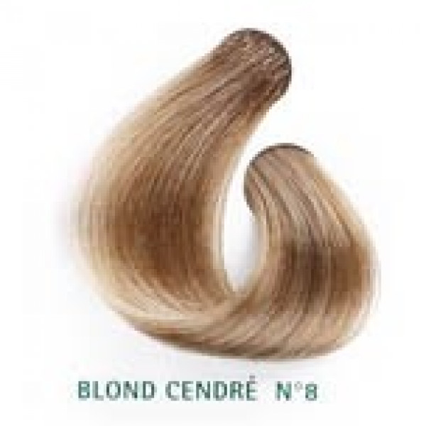 hair colour plant based 8 ash blond martine mahe - Coloration Martine Mah