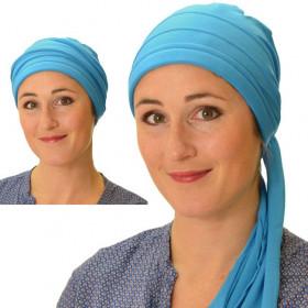 Blue Roma bandana headscarf - Comptoir de Vie