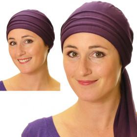 Plum Roma bandana headscarf - Comptoir de Vie