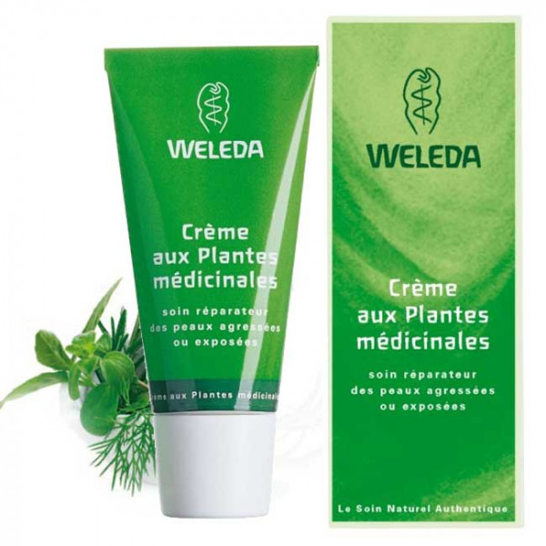 Medicinal herb cream - Weleda