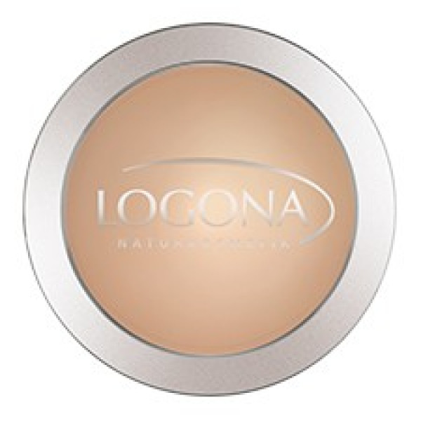 Compact powder #2 - Honey beige - Logona