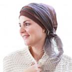 Brown Sophia headscarf