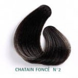Hair colour - Plant-based #2 - Dark chestnut - Martine Mahe
