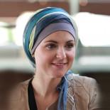 Foulard Sophia vert - Look Hat Me