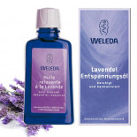 Relaxing lavender oil - Weleda