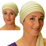 Cream Roma bandana headscarf - Comptoir de Vie