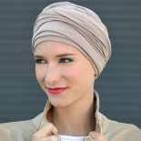 Turban bambou Diana beige - MM Paris