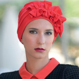 Turban Océane framboise - MM Paris