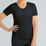 Tee-shirt Valetta avec soutien-gorge intégrée Noir - Amoena